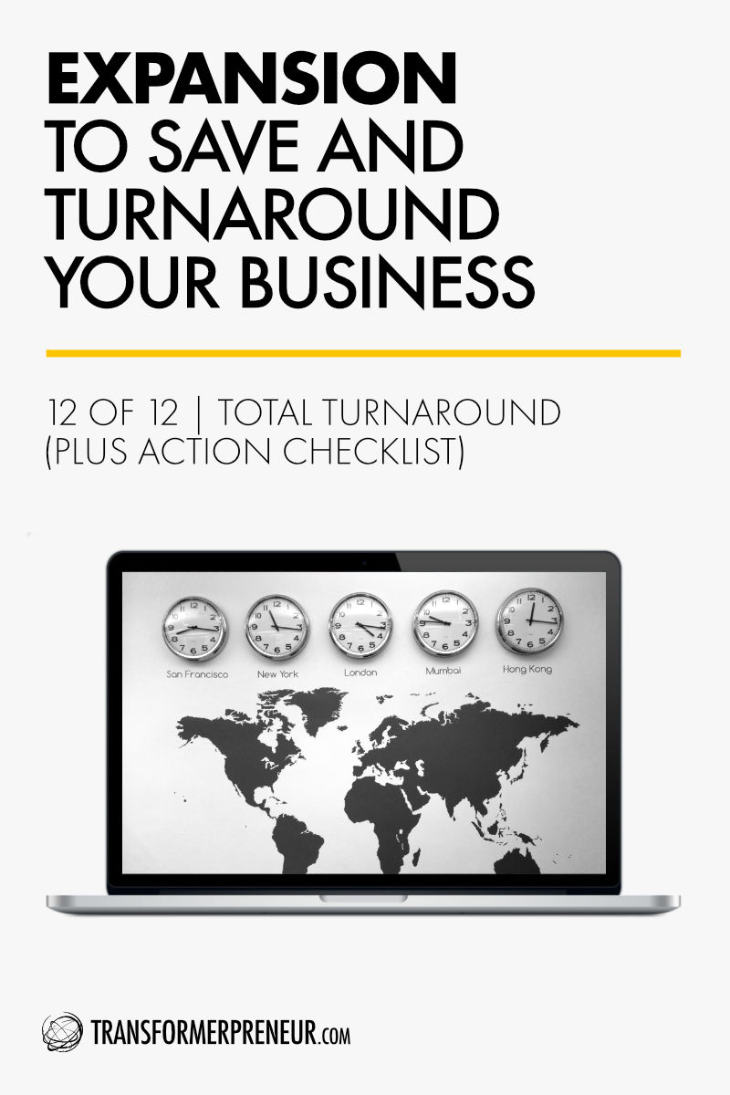 Save Turnaround Grow Your Struggling Consultancy Practice Studio Agency Business International Expansion