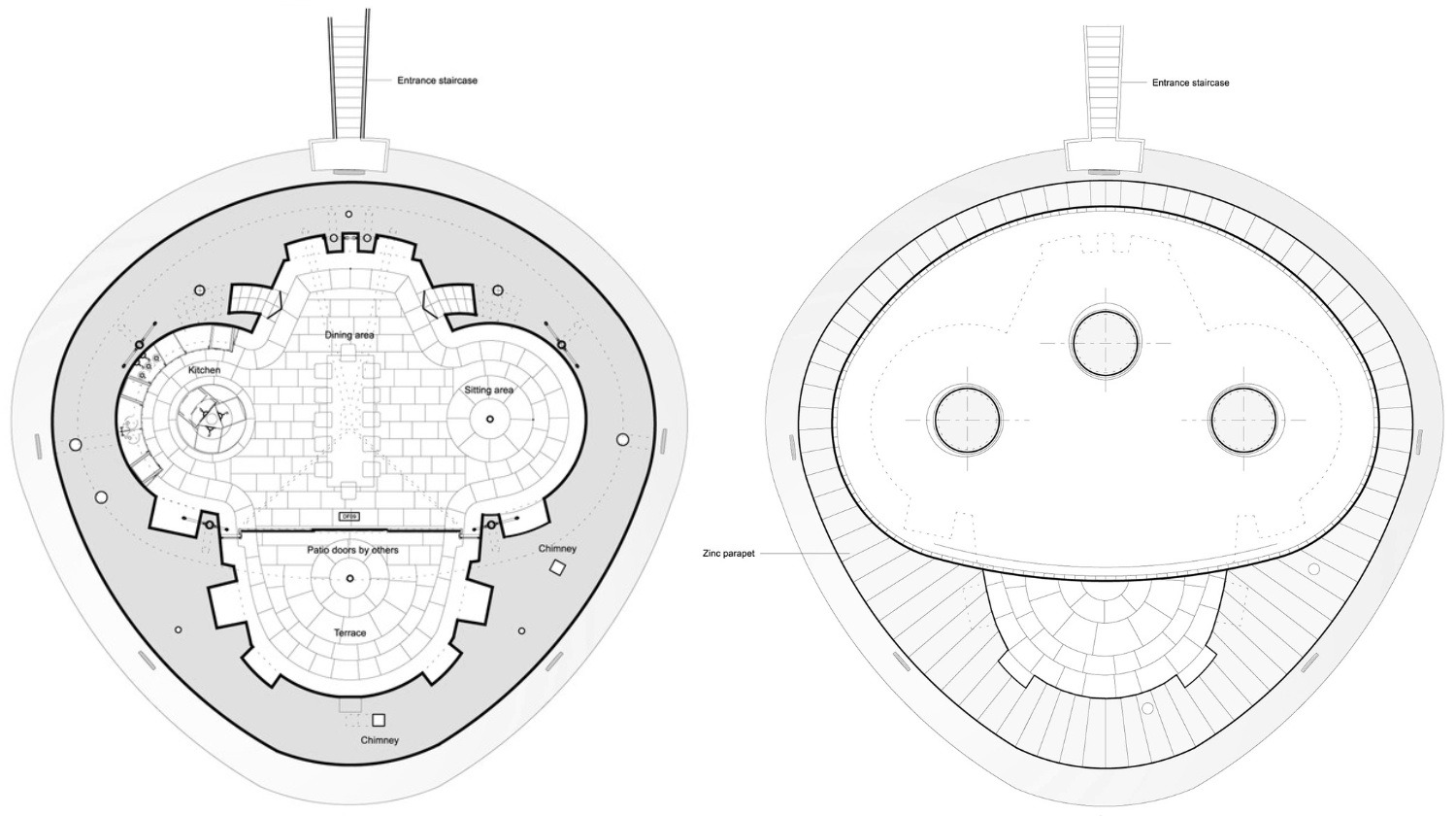 Richard Conner Architect Artist Martello Tower Terrace Roof Plan CROP 1500px 80PC.png