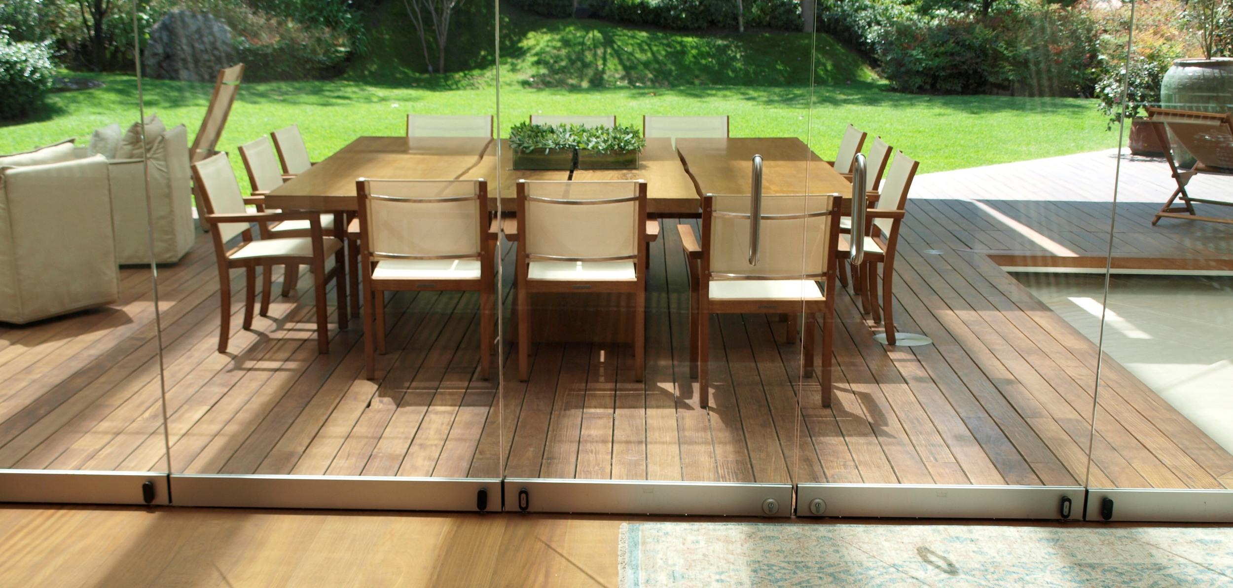AA Teak Burma flooring and deck.
