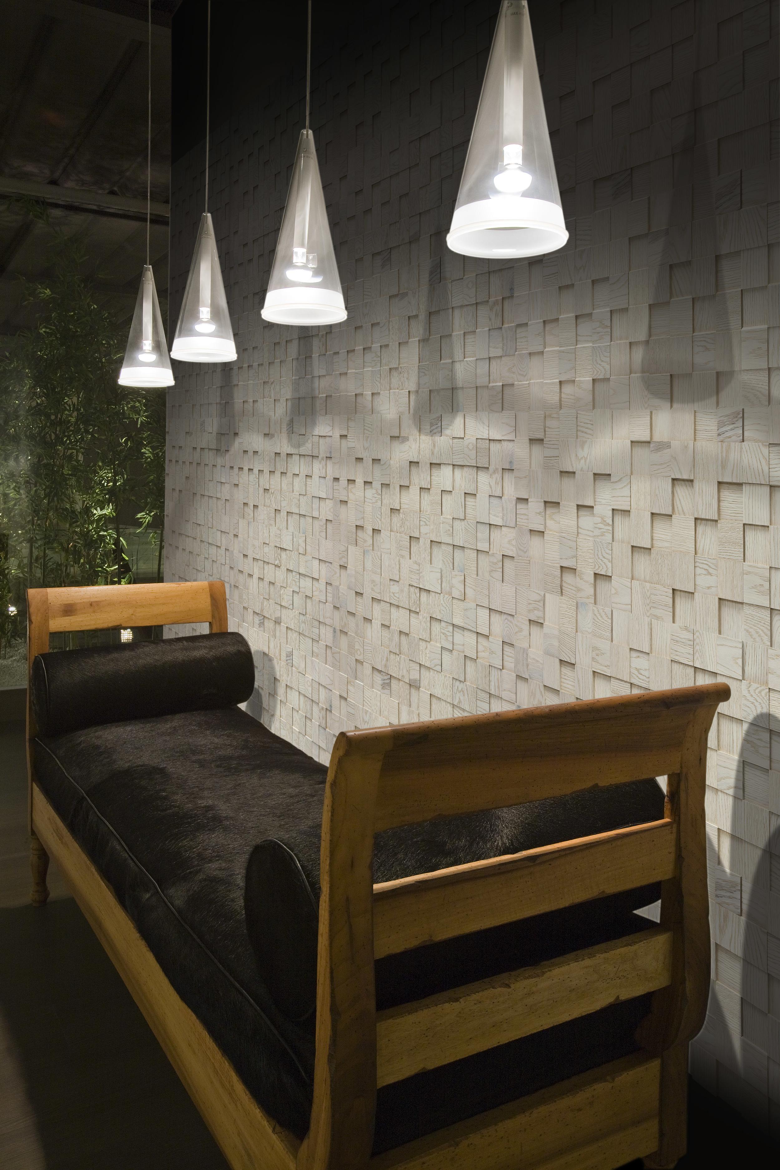 Mosaico D´Asolo 3D Oak Bianco Perla