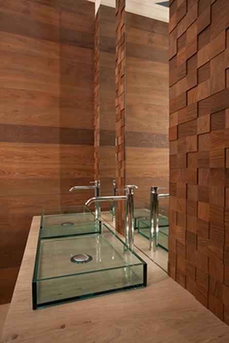 Mosaico D´Asolo 3D Oak medium heat treated