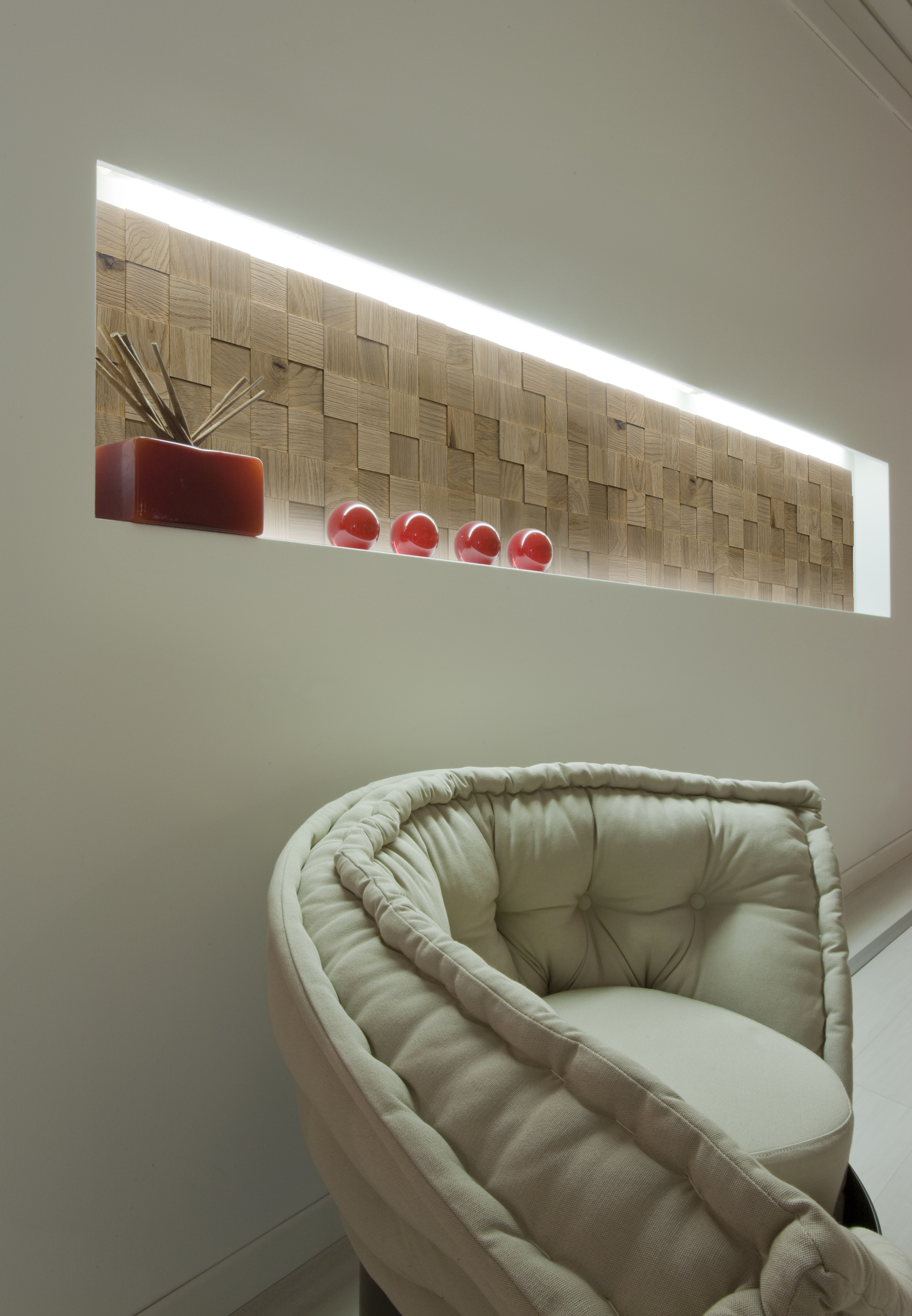 Mosaico D´Asolo 3d Oak grigio tannino