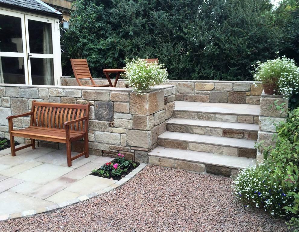 Stone terrace in Pollokshields , Glasgow