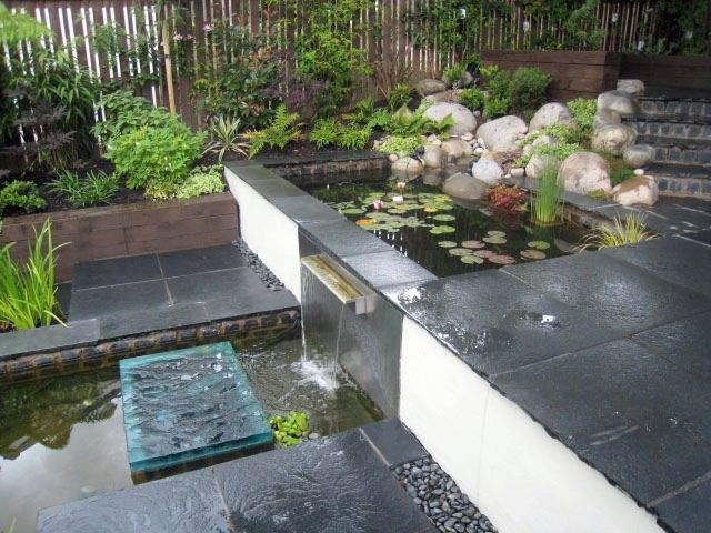 Terraced garden, Glasgow