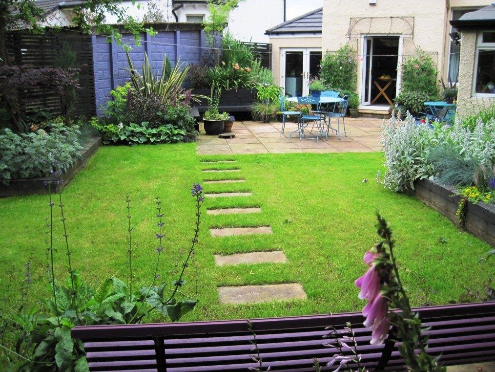 Garden in Yoker, Glasgow