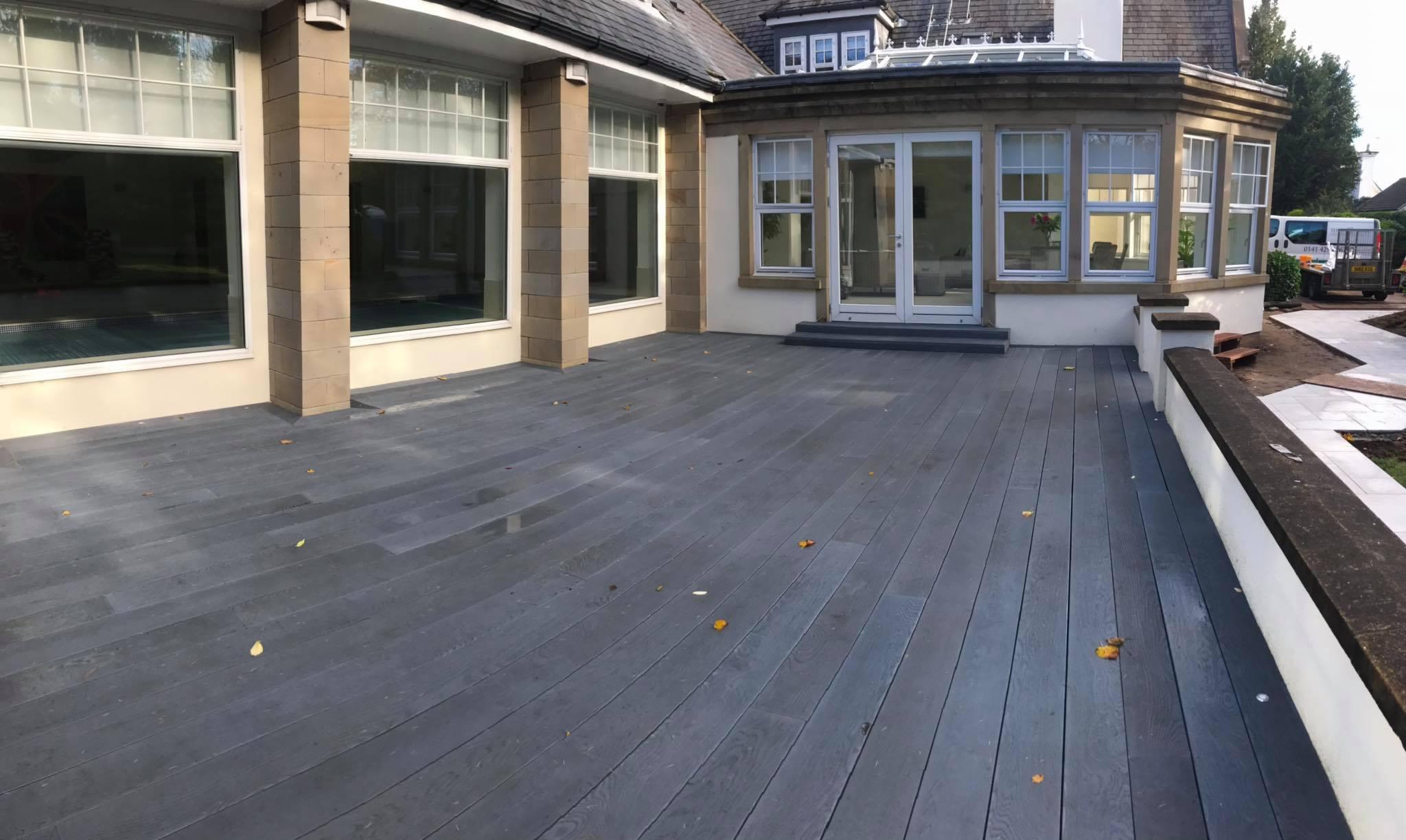 Grey Millboard for a project in Bearsden, Glasgow