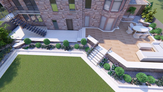 3d Visualisation for a Pollokshields garden