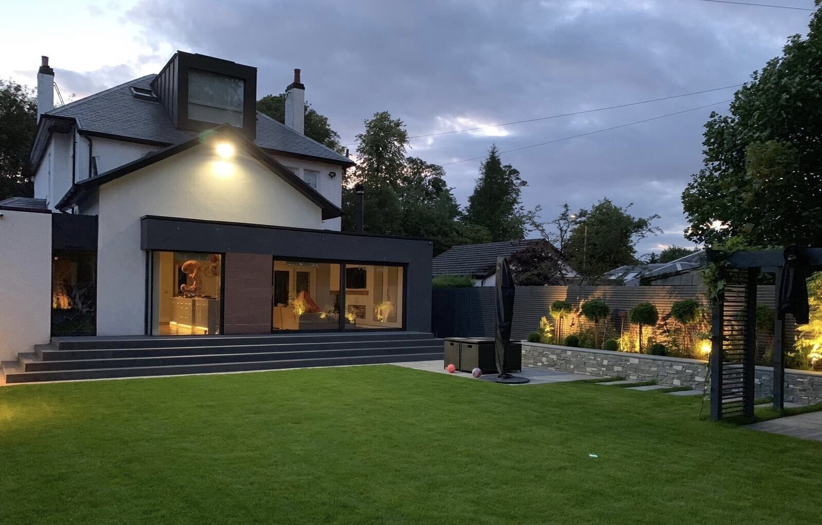 Garden Lighting, Whitecraigs