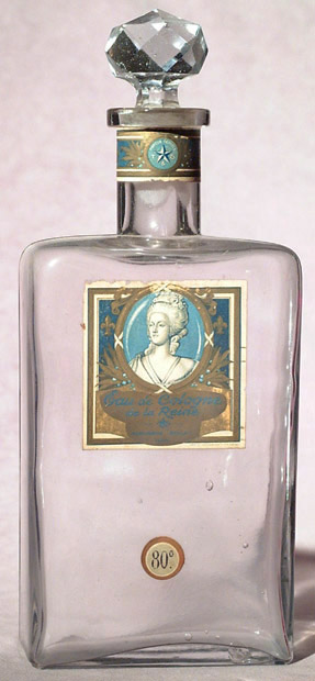 Toilette waters and eau de colognes were used to cleanse and perfume