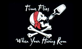 Time flies when you having rum