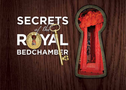 Secrets of the Royal Bedchamber poster credit: hrp.org.uk