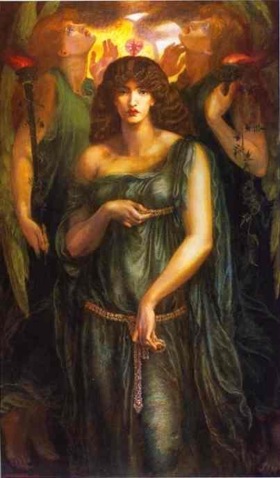 Astarte  Syriaca – Dante Gabriel Rossetti