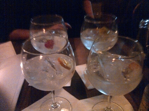 The Gin Sampler – 4 delectable bowls of gin