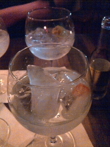 Gin with a tease of Clementine and a Cape of Gooseberry