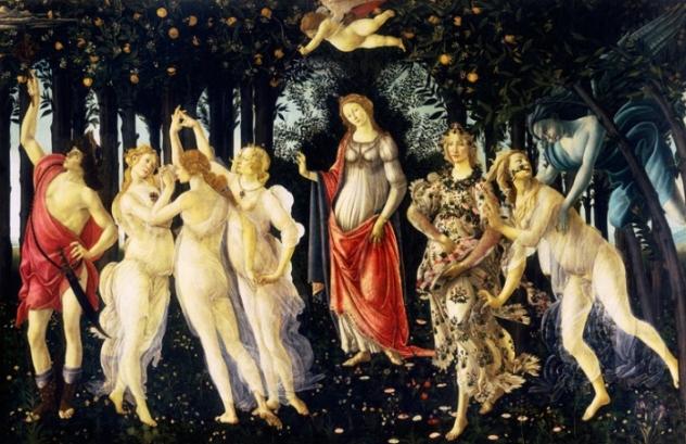 Forever Springtime Botticelli's Primavera