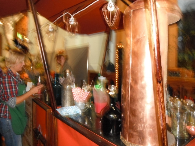 The Midnight Apothecary bar at RHS Harvest Festival, London