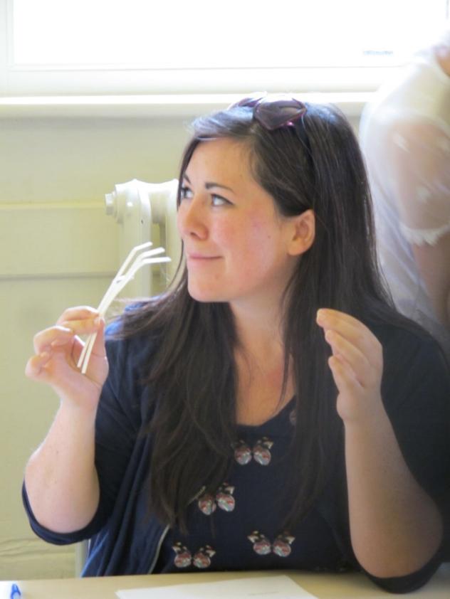 A winning combination ? Georgian Fragrance class at Hampton Court Palace