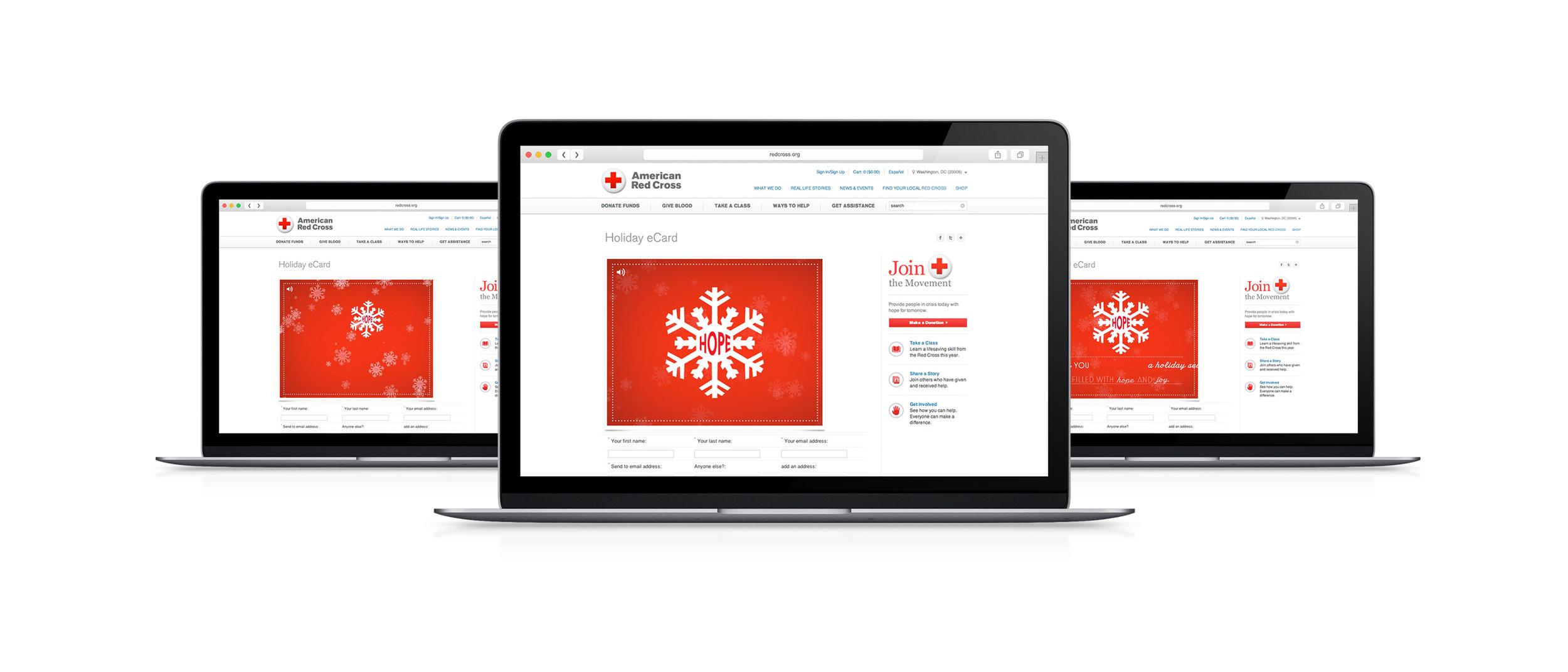 American Red Cross Animated Holiday eCard — Sharyn Lange