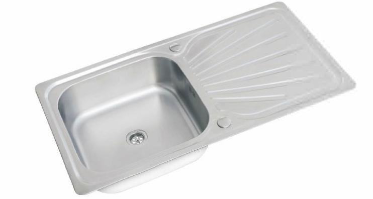 Futura ET 2 Reversible sink Super deep sink 1000x500x220