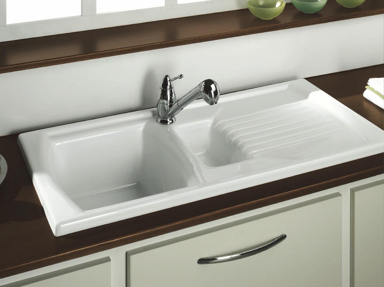 Lustitano Inset Sink 1 ½ Bowl