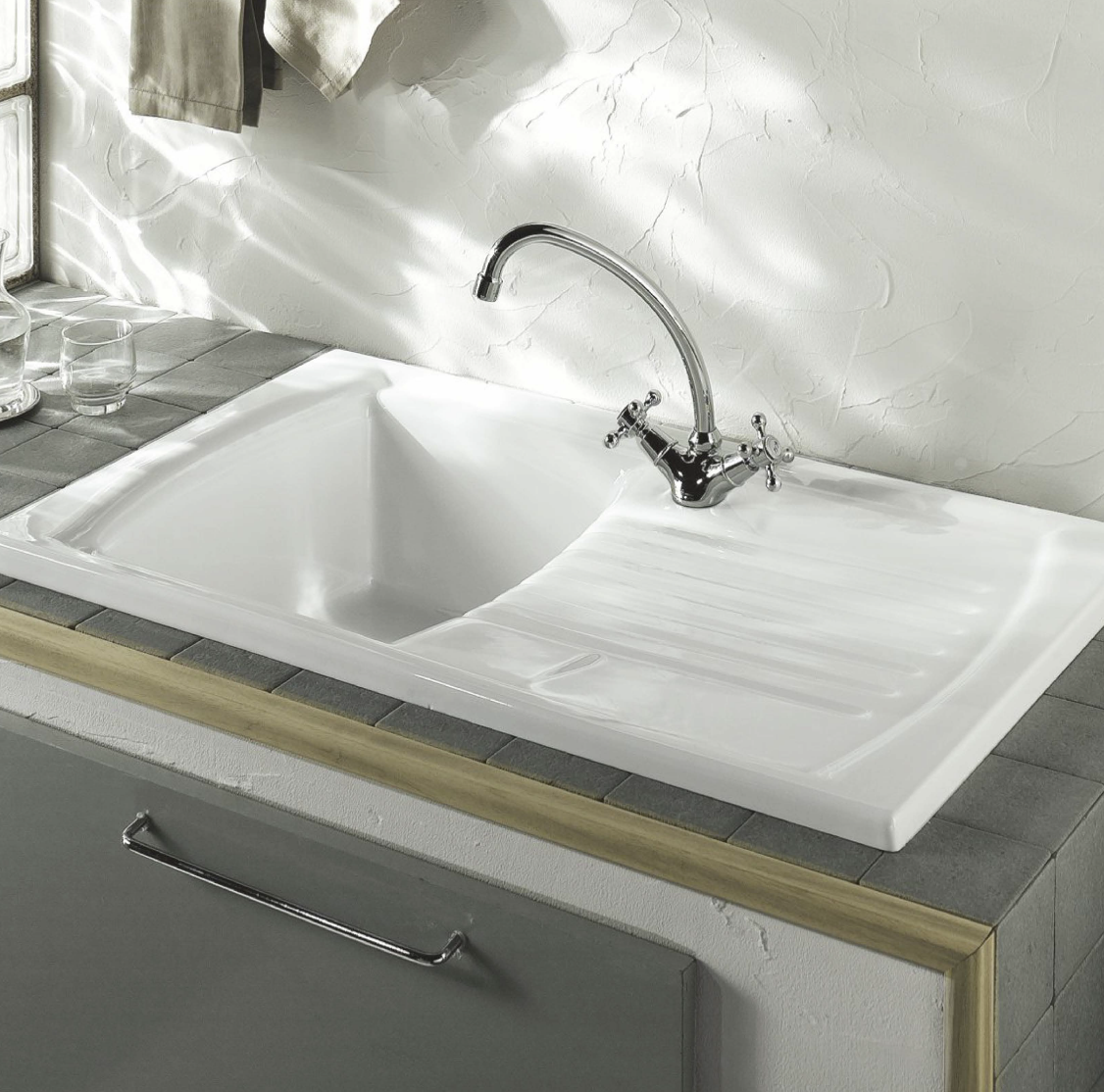 Lusitano Inset sink SBSD