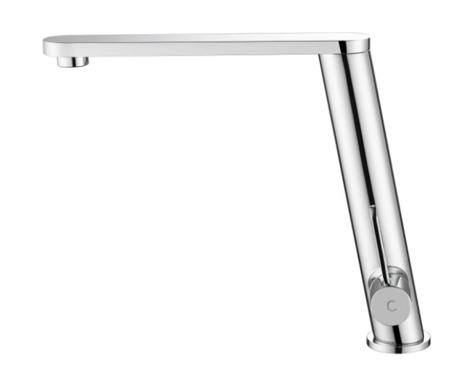Toledo  Angled Feature Tap- Twin Lever PRCG1030 Chrome