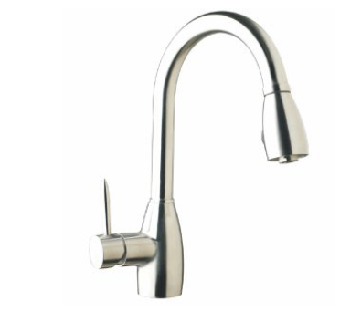 Huron Kitchen Tap With Pulll-out Sprayer Satin Finish