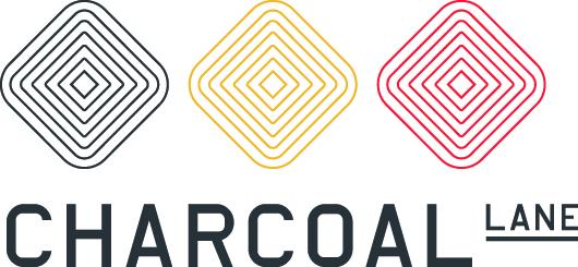 Charcoal Lane Logo: Studio Round