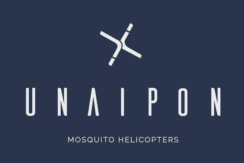 Unaipon Helicopter logo