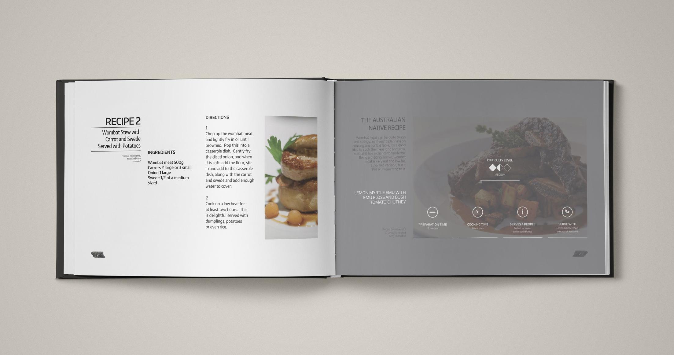 Charcoal Lane Book - Recipe 2