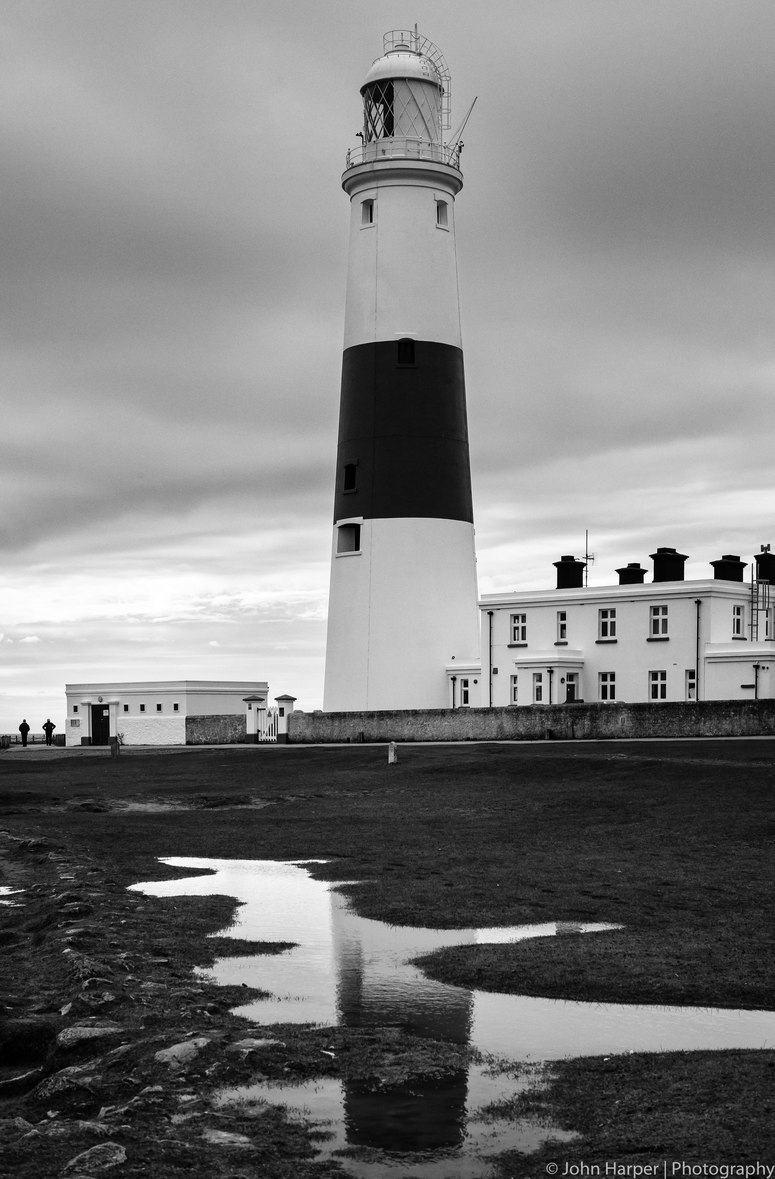 Lighthouse and Puddle