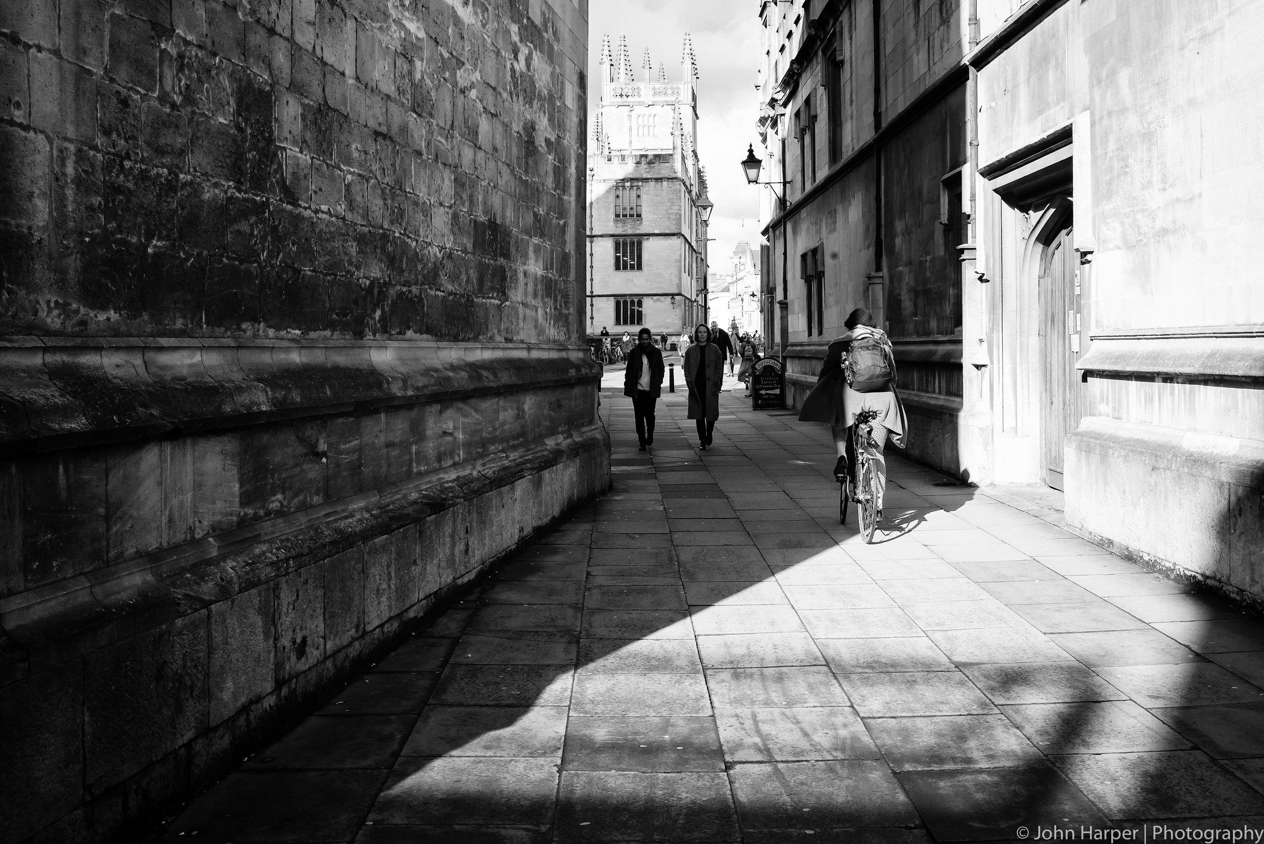 Light & Shadow & Bike