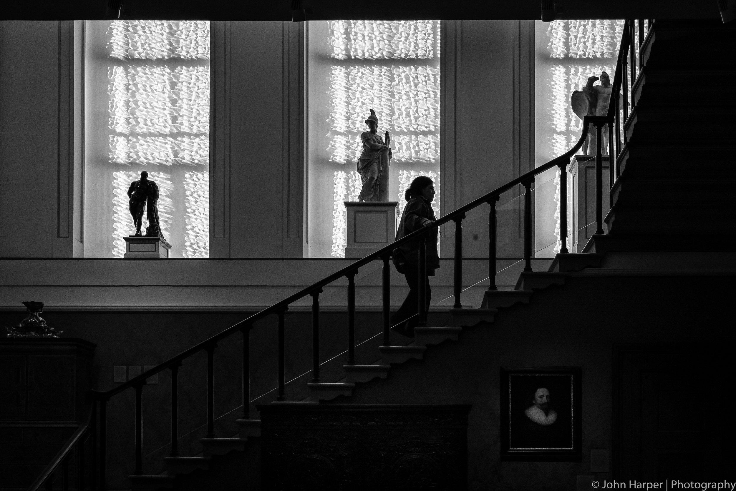 Stair Portrait