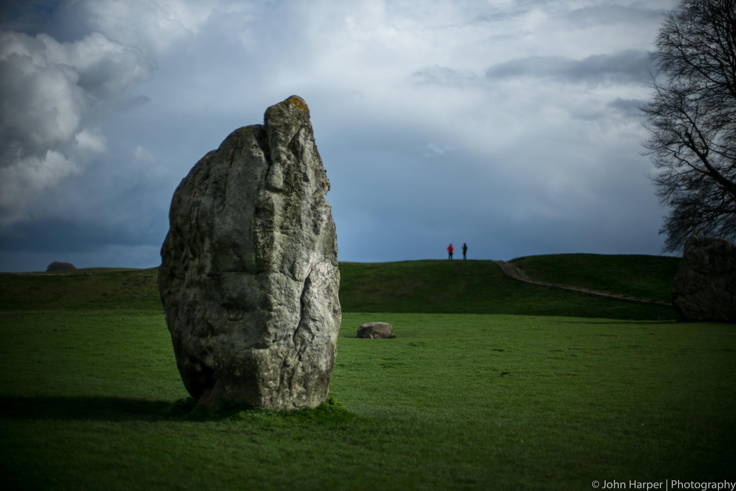 Avebury Stone and People