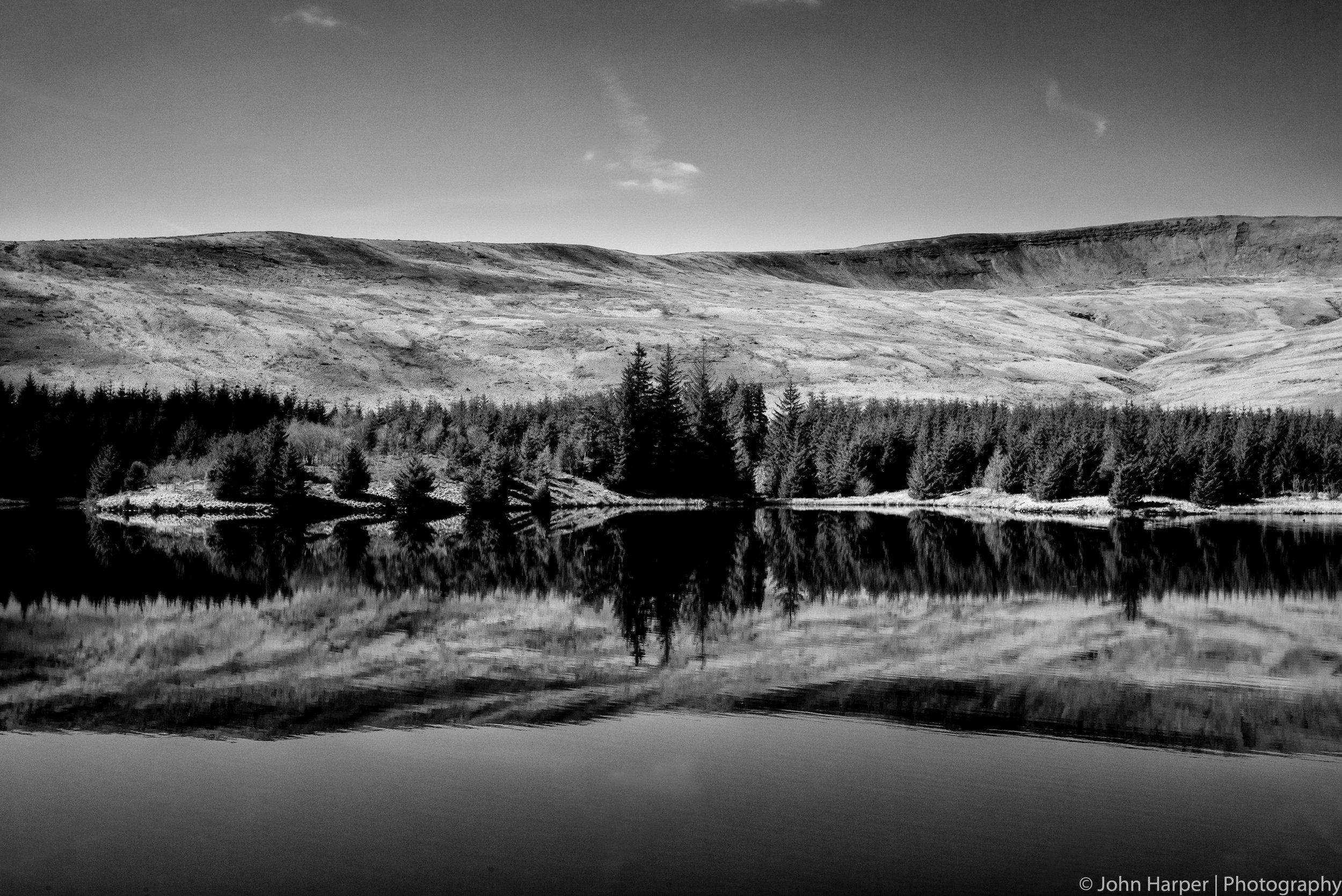 Rorschach Test - I see a lake!