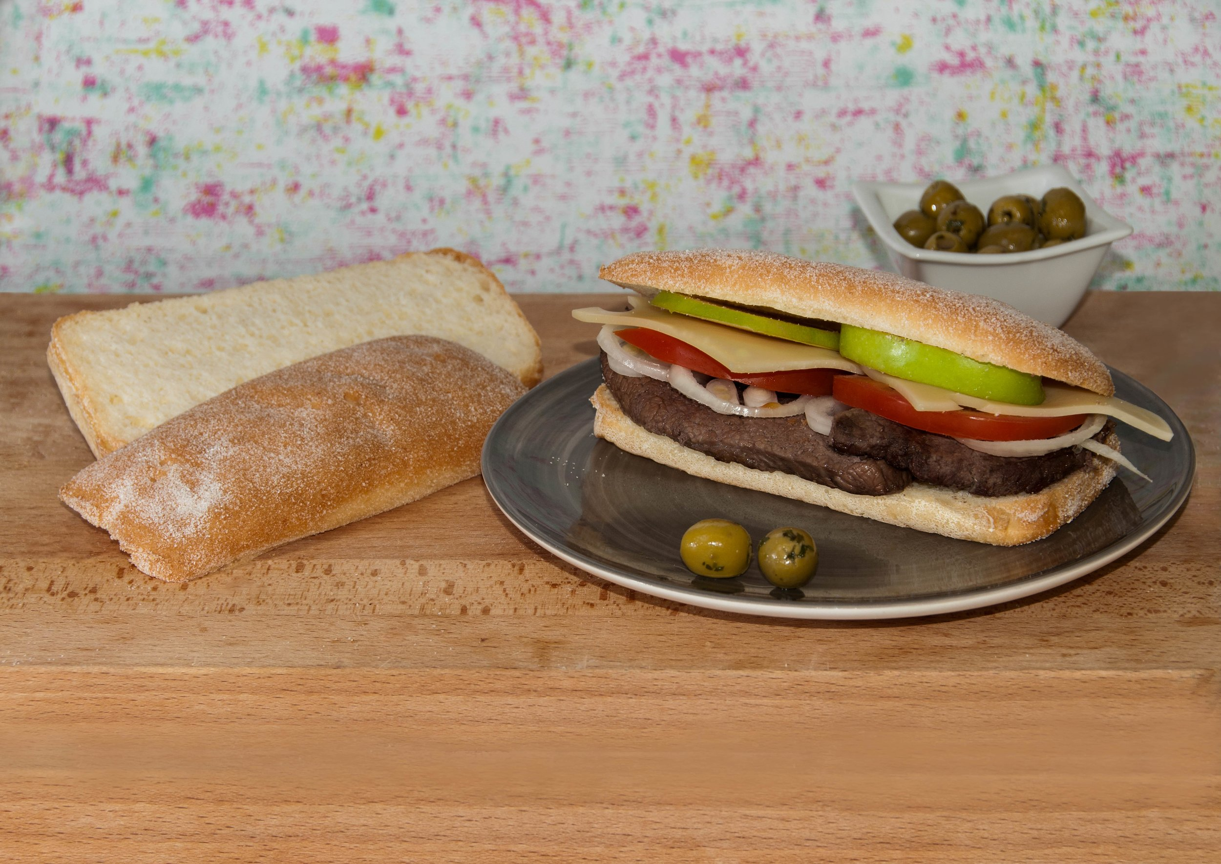 Gluten Free Panini by Fosters Bakery