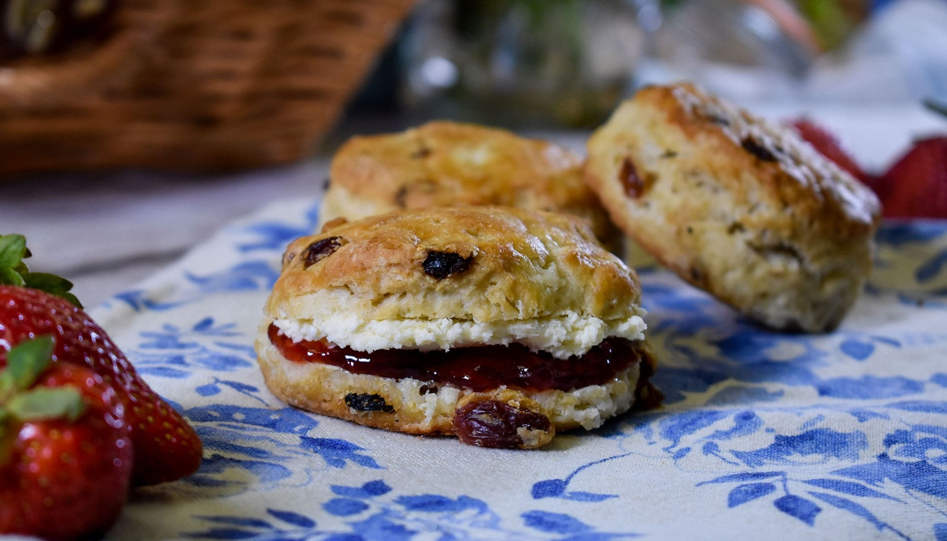 Vegan Fruit Scone