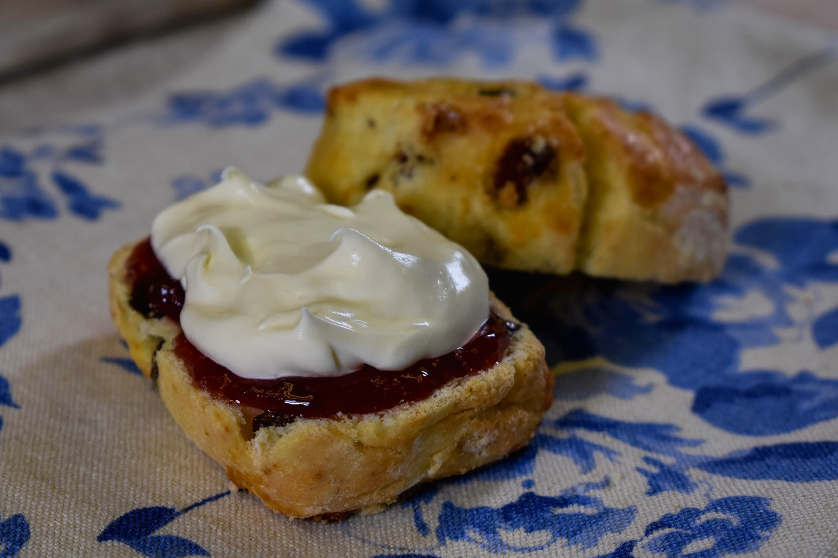 Gluten Free Fruit Scone