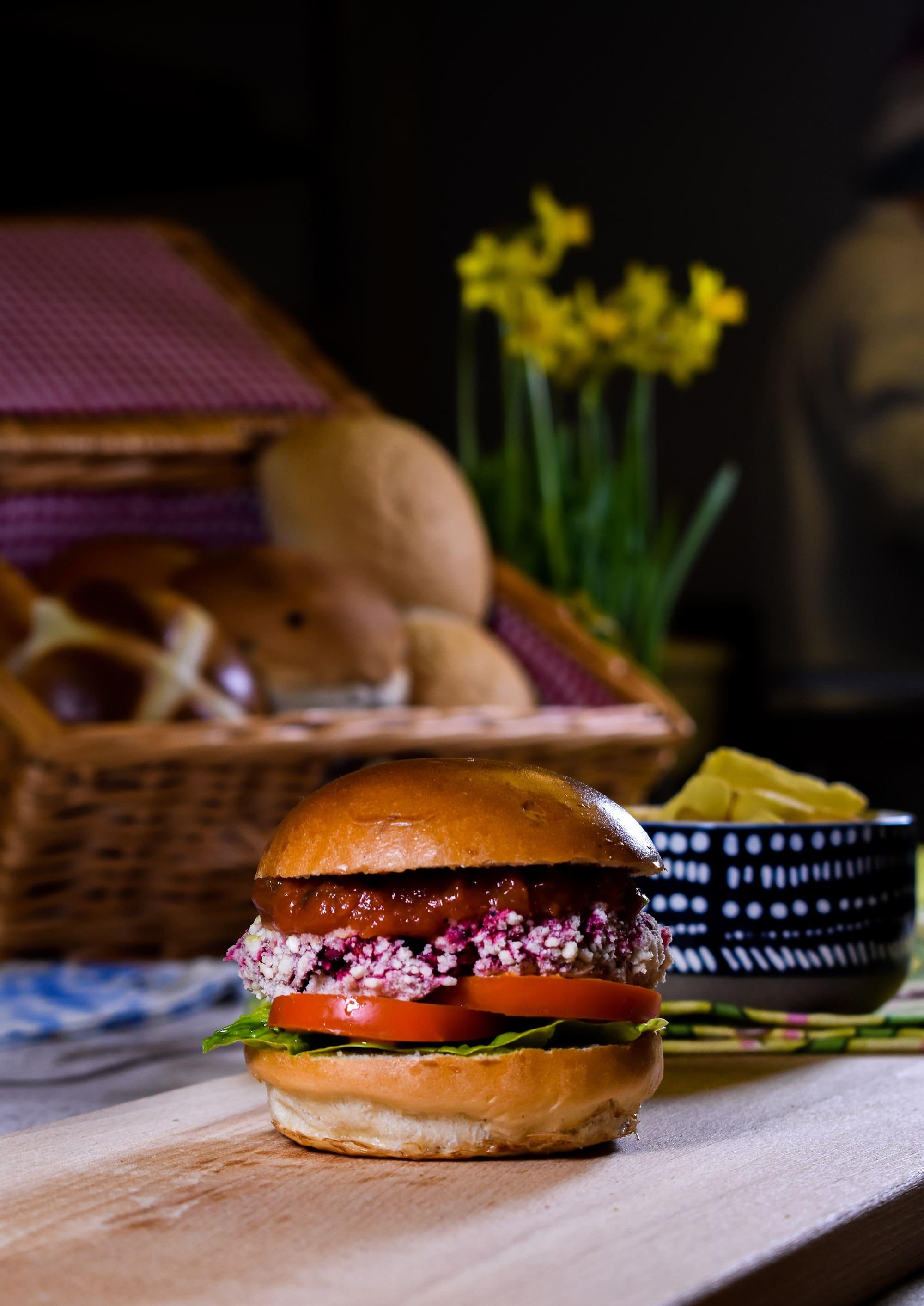 Vegan Brioche Style Bun by Fosters Bakery