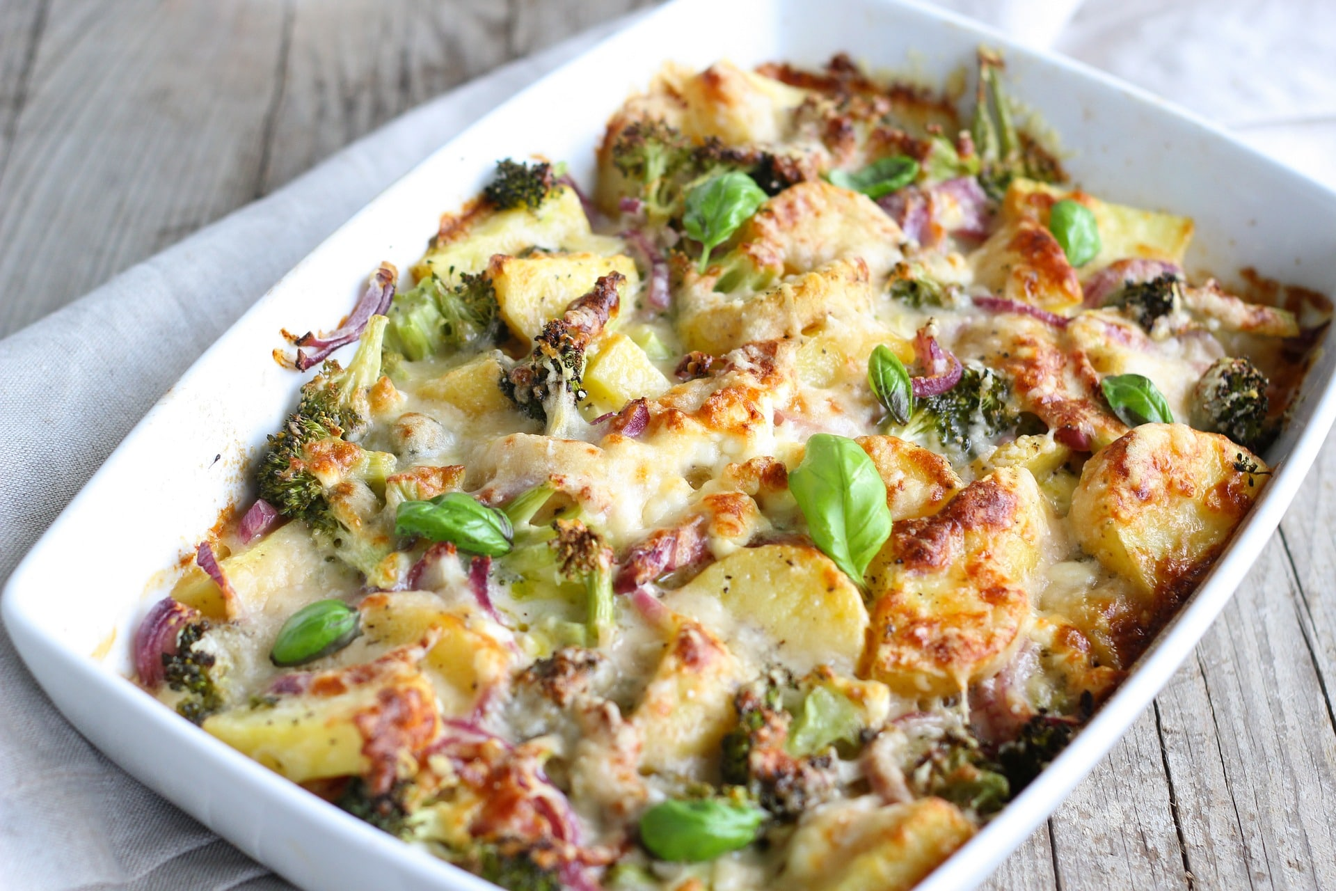 Creamy tarragon chicken bake - An all-in-one type of dish from BBC Good Food. This recipe is gluten free, egg free, dairy free and nut free so can cater for lots of diets but you can easily swap and change ingredients to fit your preferences and diet.*Image shown is not from the recipe provided.