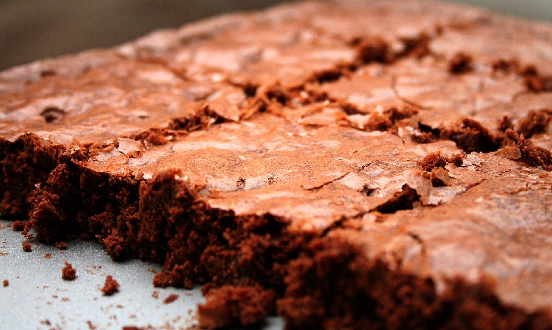chocolate fudge brownies - These look like the perfect brownie with a thin crust on the top and nice and fudgy in the centre. This recipe from Sweetest Menu is similar to any other brownie recipe but calls for gluten free plain flour. These would make a delicious treat.*Image shown is not from the recipe provided.