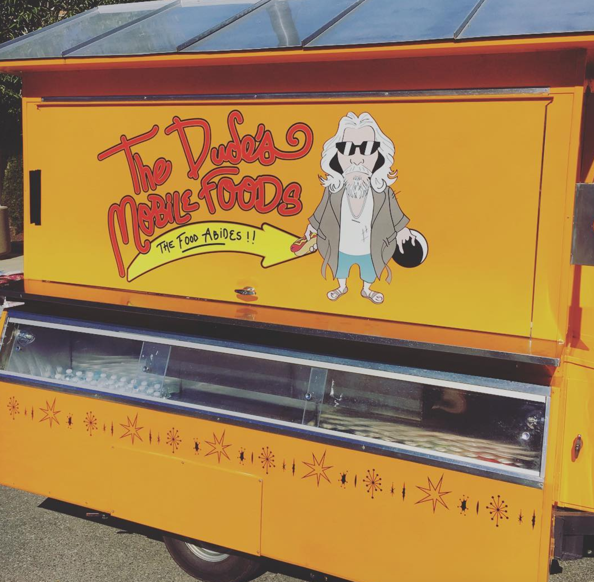 THE DUDE'S MOBILE FOODS    A branding project for a Big Lebowski style food service.