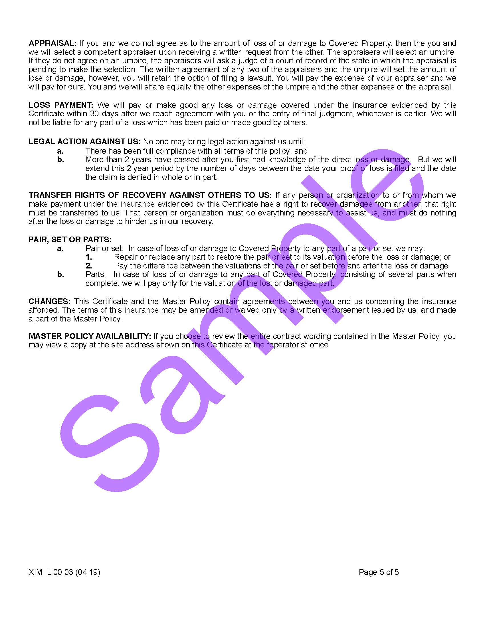 XIM IL 00 03 04 19 Illinois Certificate of InsuranceSample_Page_5.jpg