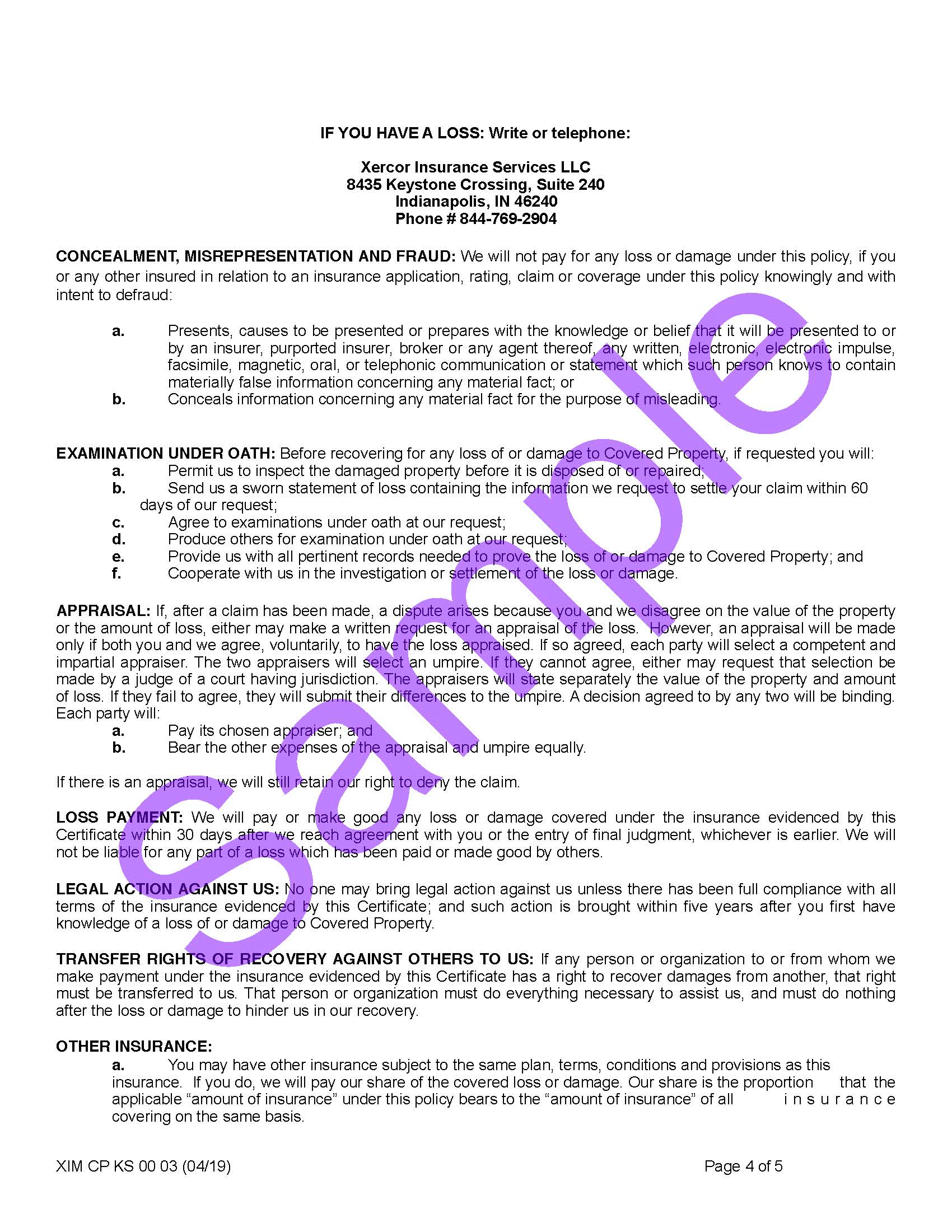 XIM CP KS 00 03 04 19 Kansas Certificate of InsuranceSample_Page_4.jpg