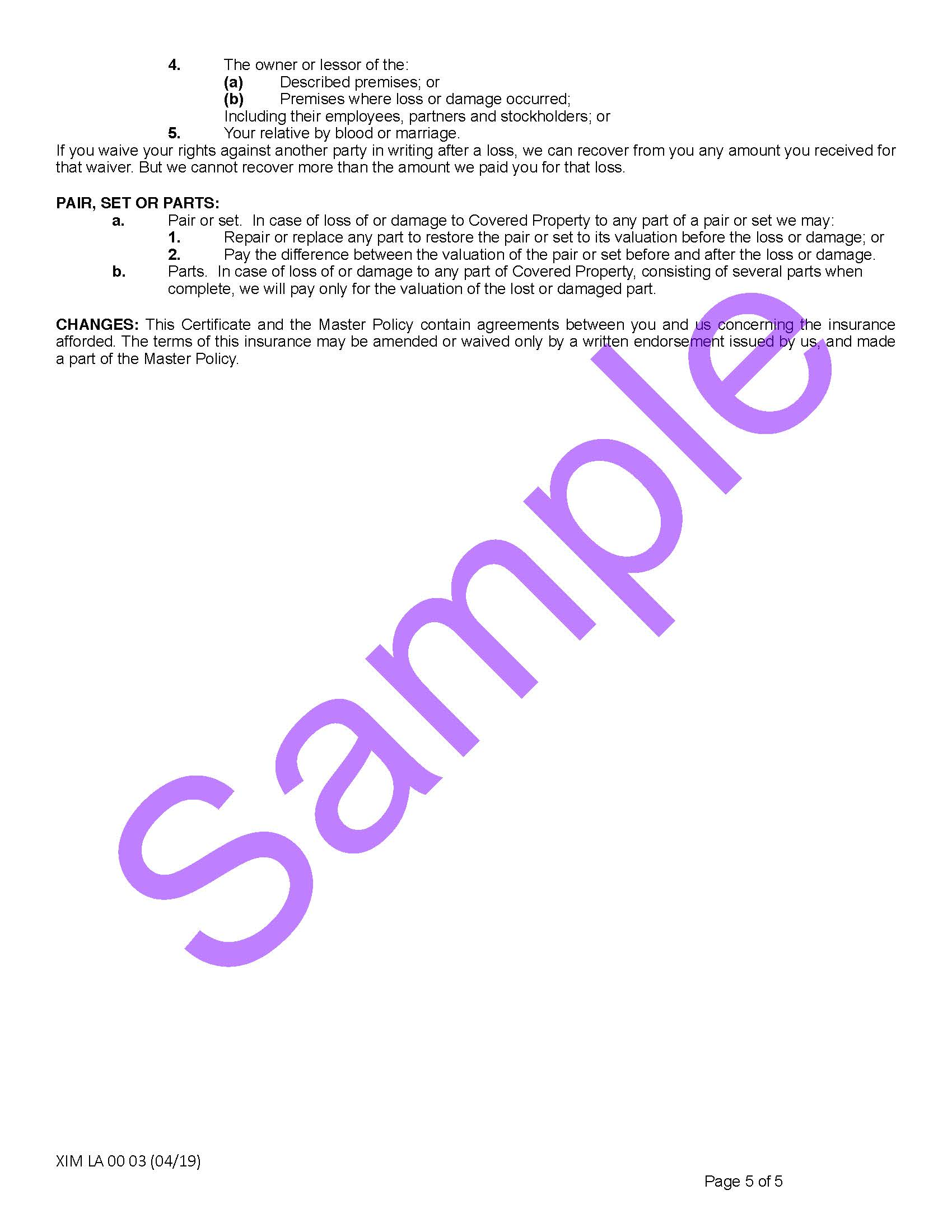 XIM LA 00 03 04 19 Louisiana Certificate of InsuranceSample_Page_5.jpg