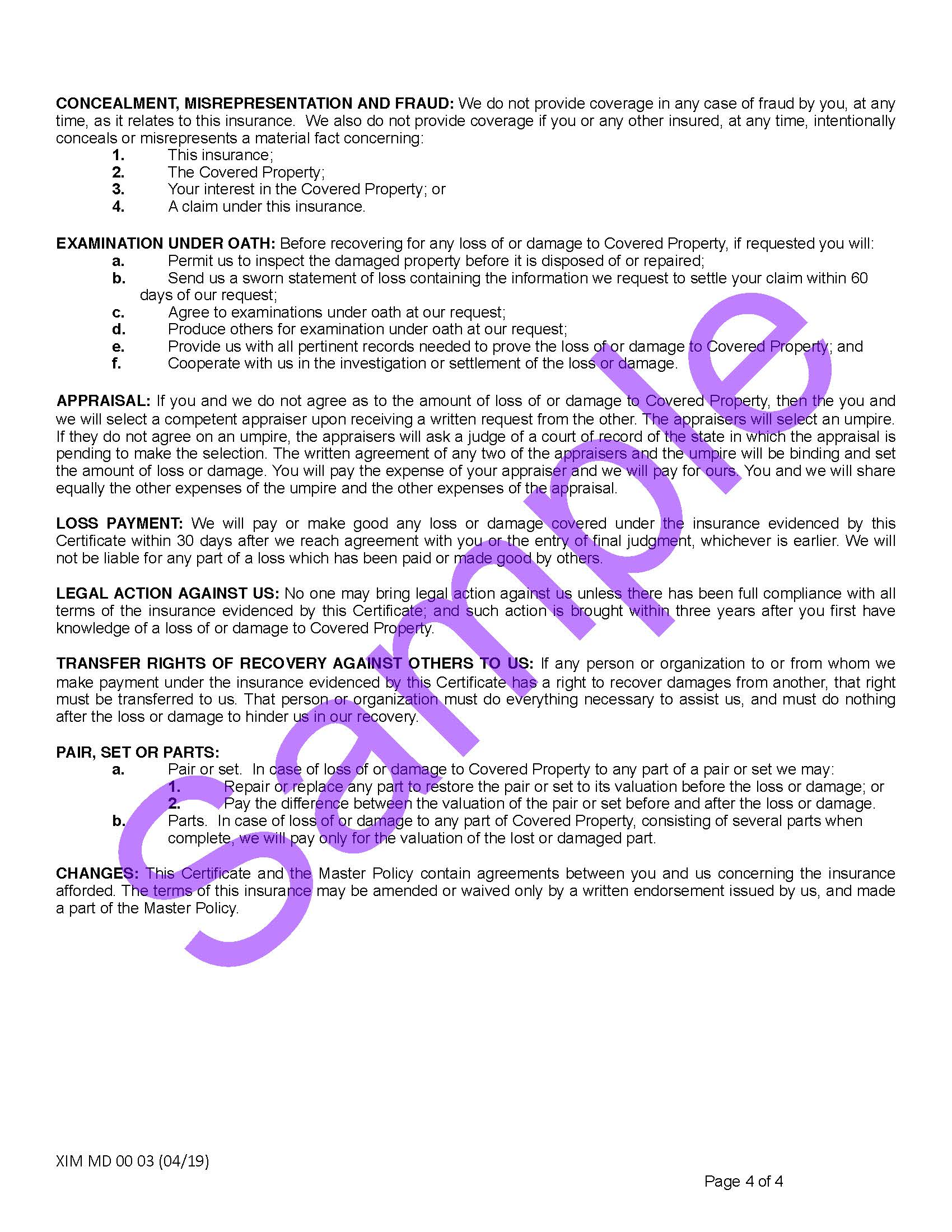 XIM MD 00 03 04 19 Maryland Certificate of InsuranceSample_Page_4.jpg