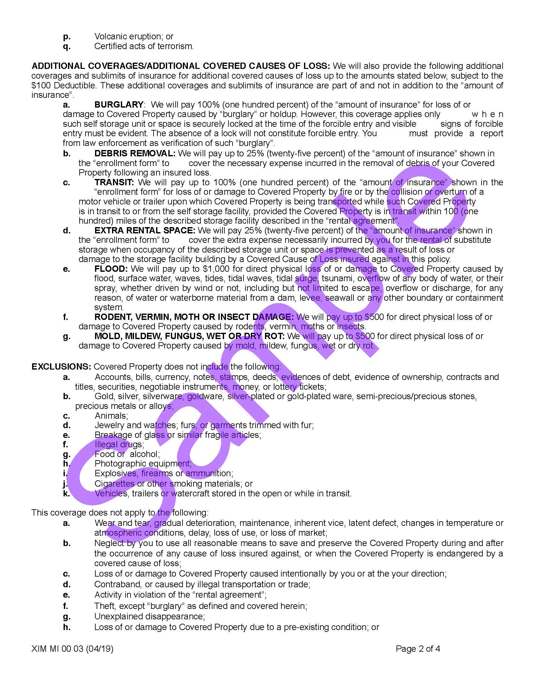 XIM MI 00 03 04 19 Michigan Certificate of InsuranceSample_Page_2.jpg