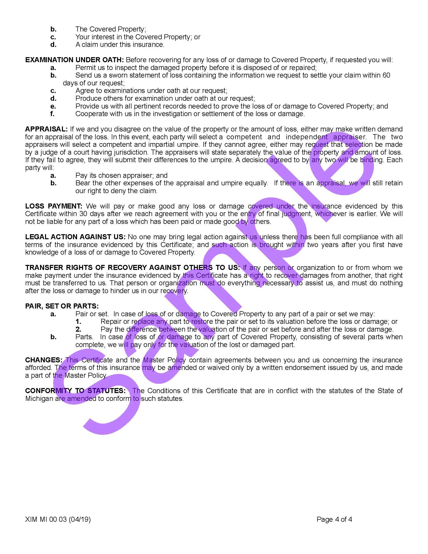 XIM MI 00 03 04 19 Michigan Certificate of InsuranceSample_Page_4.jpg