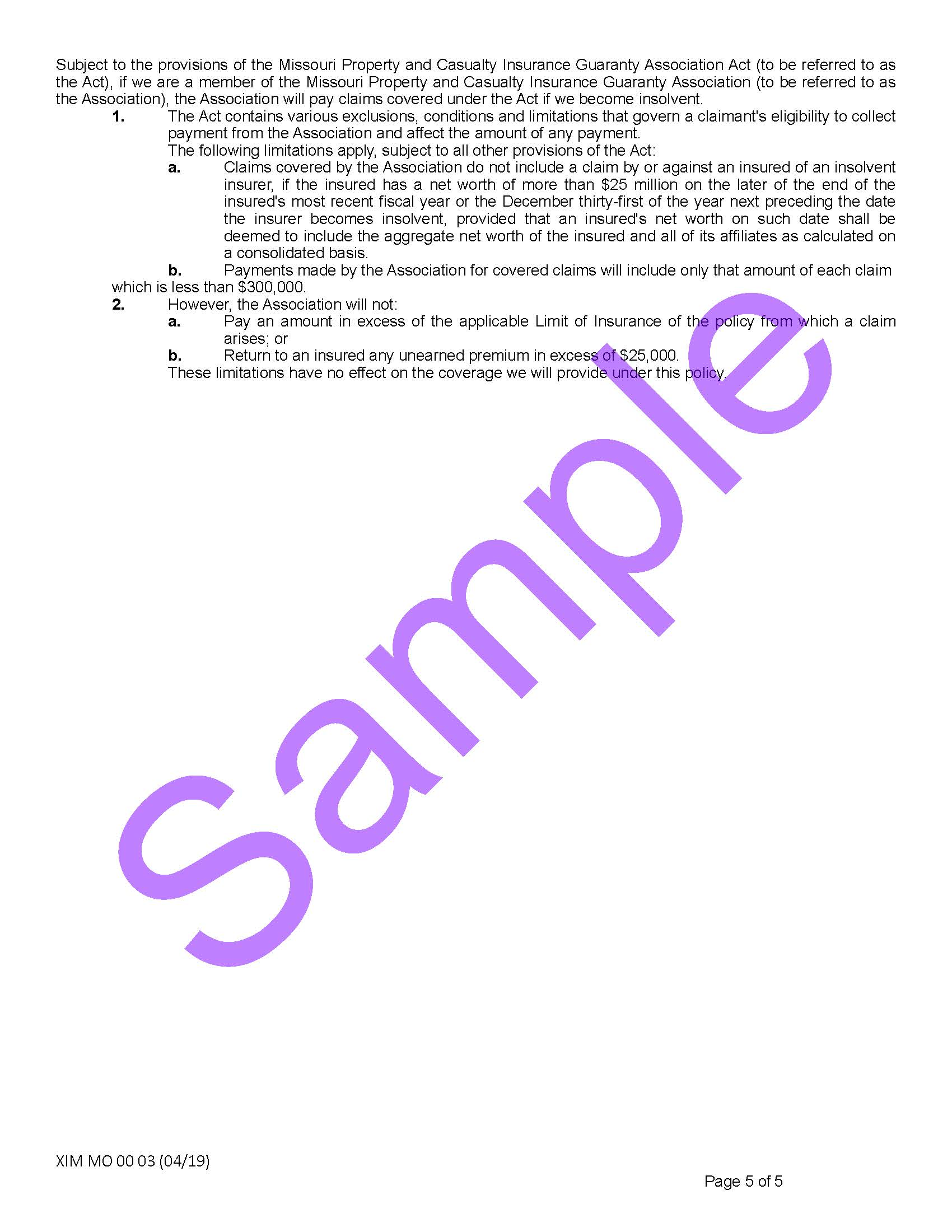 XIM MO 00 03 04 19 Missouri Certificate of InsuranceSample_Page_5.jpg