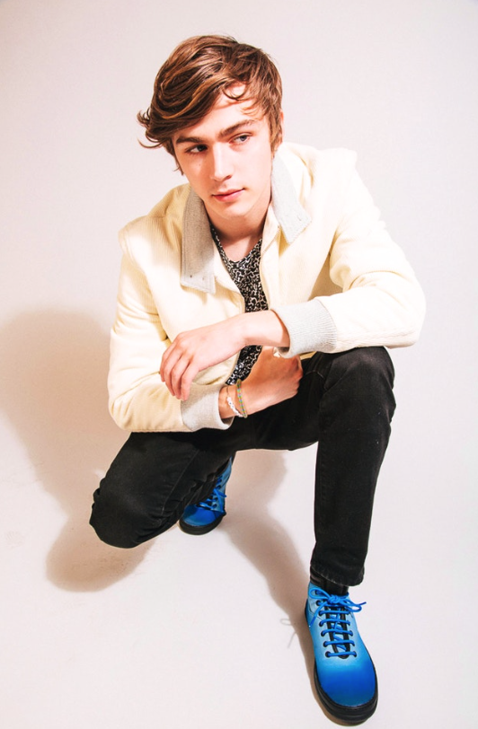 Styled Miles Heizer for  NYLON